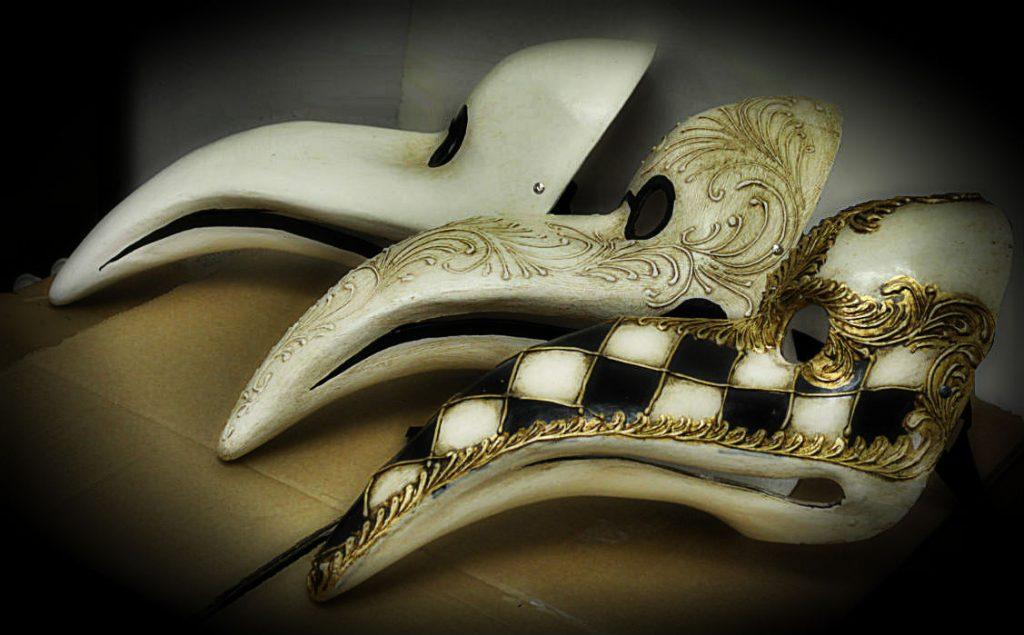Maschera Del Dottore Della Peste Venezia
