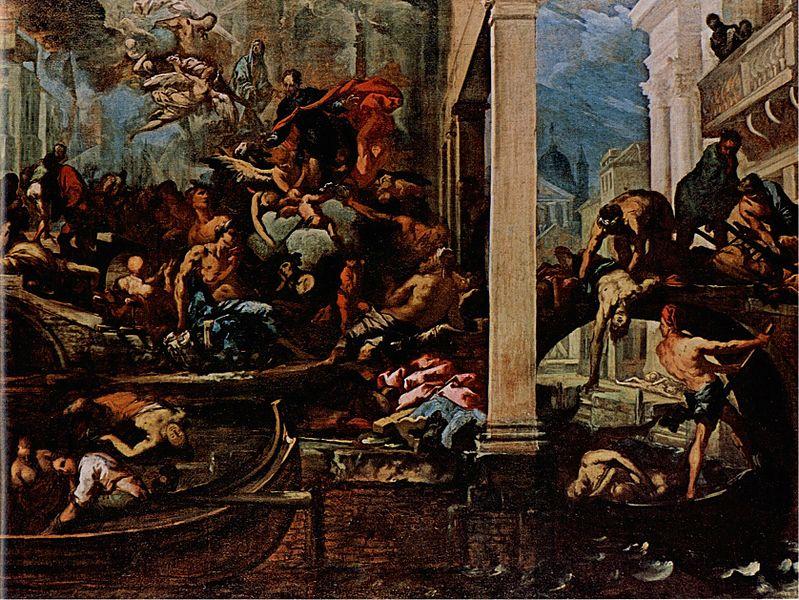 Peste Del 1630 A Venezia, Bozzetto Zanchi