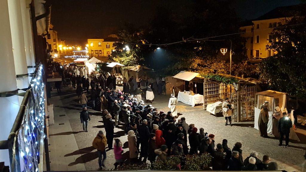 Presepe Riviera Mazzini allestita - Foto scattata da Francesca Zeggio