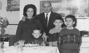 Nello Bellini e la sua famiglia