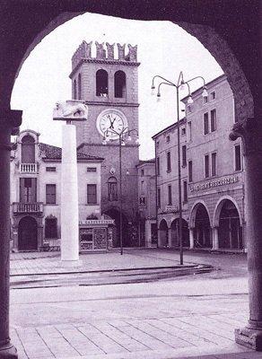 Sigismondo Cattaneo, Piazza Risorgimento ph Facebook Lendinara