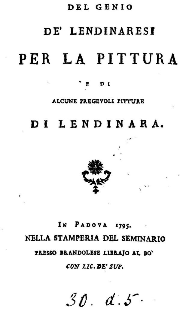 Del Genio De Lendinaresi