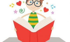 ea storia dea raneta immagine di una bambina che legge un libro