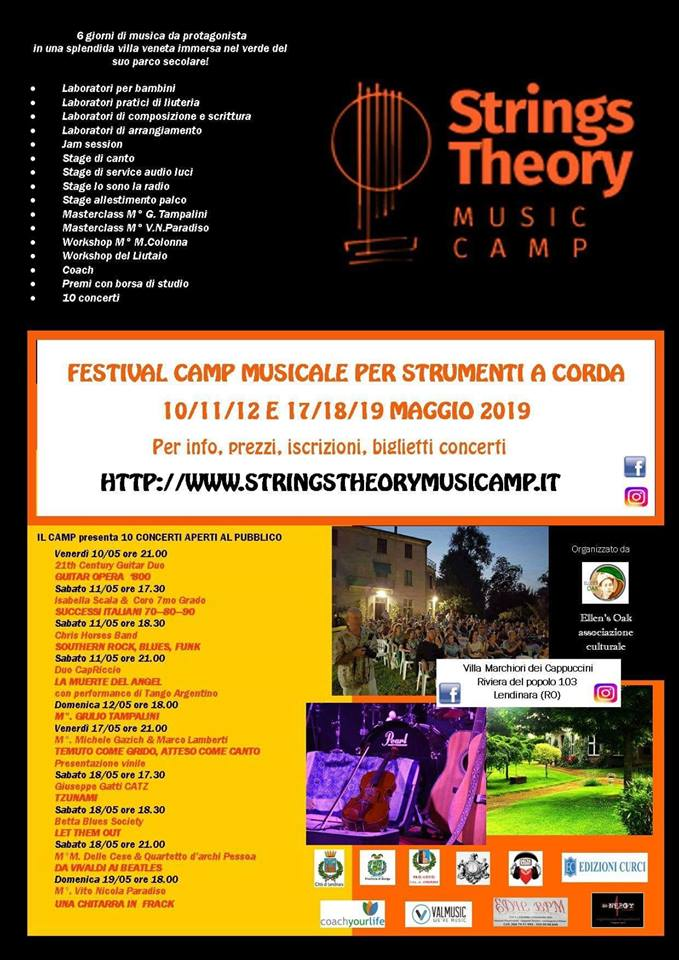 Strings Theory Music Camp Programma