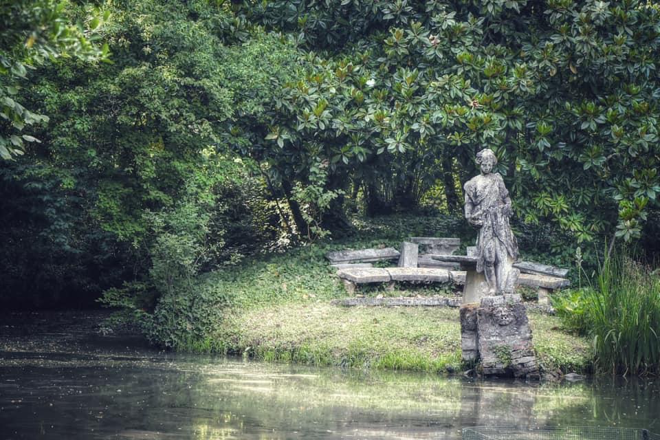 Tra Ville e giardini: Giardino Ca' Dolfin Marchiori Ph Facebook Silvia Lucchiari Borin