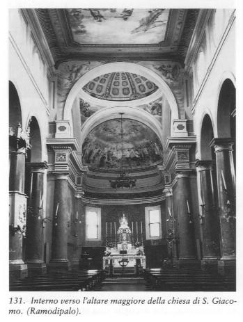 Interno Chiesa S. Giacomo Rampodipalo Da Sito Ramodipalo