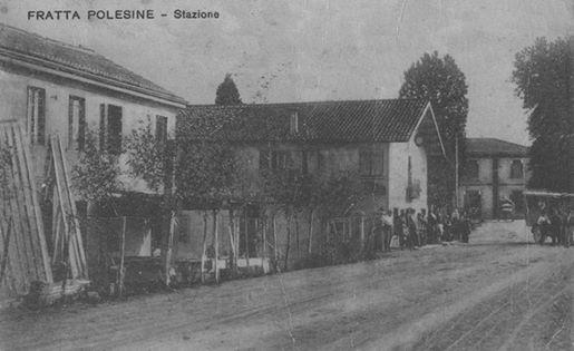 1925 Fratta Polesine La Stazione Ph Facebook Erio Magon Da Gruppo Polesine