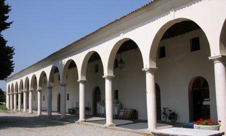 Castello Estense, Arqua Polesine, Particolare Barchessa