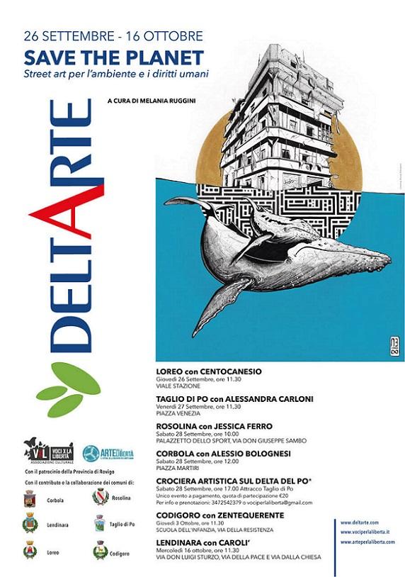 Deltarte 2019 Locandina