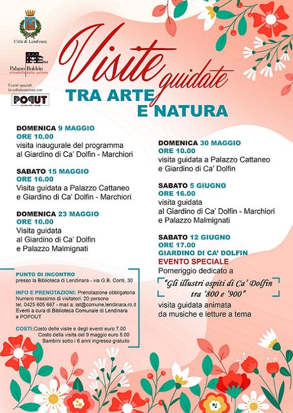 Locandina Visite Guidate Tra Arte E Natura Ridim.