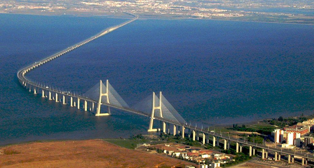 Come Arrivare a Lisbona - foto del Ponte Vasco Da Gama