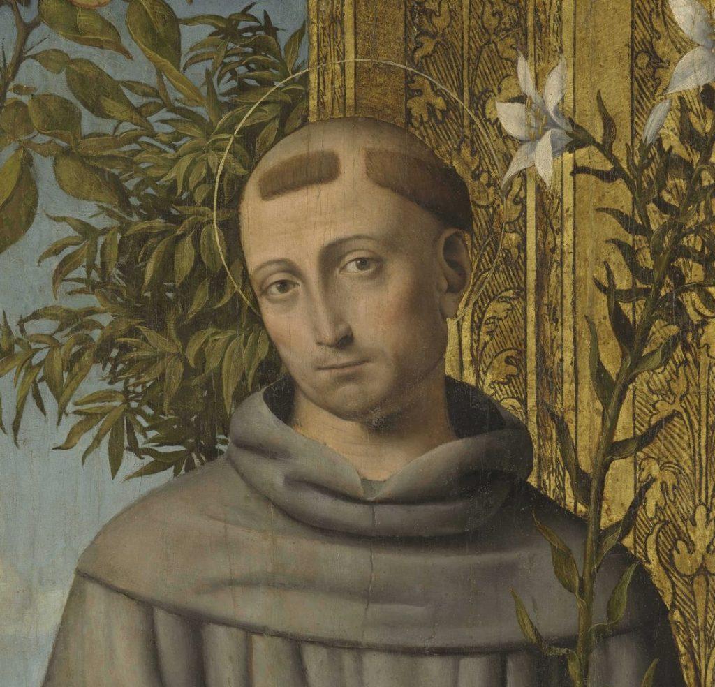 Sant'Antonio visto dal pittore Bernardino Luini