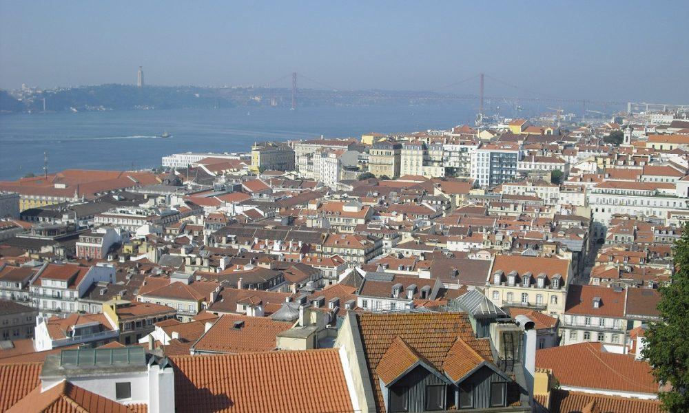 Lisbona - Veduta della Baixa