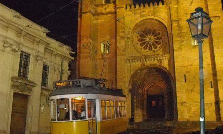 Sé de Lisboa - Vista notturna