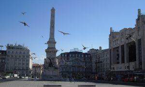 Lisbona - Praça dos Restauradores