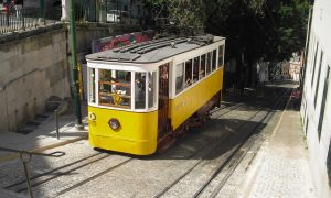 Lisbona - Elevador da Glória
