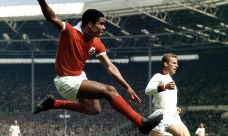 Eusébio Wembley 1963