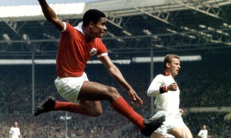 Eusébio Wembley 1963