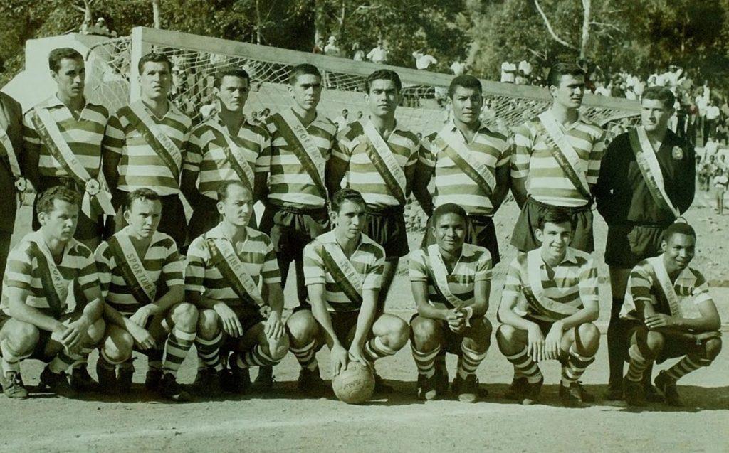 Eusebio Sporting Lourenço Marque