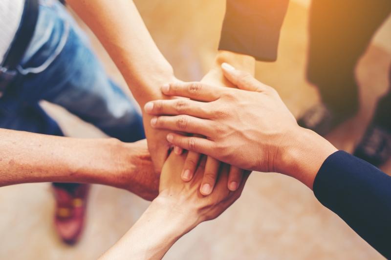Anno Nazionale della Collaborazione - Mani unite