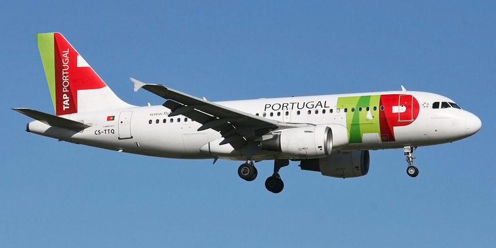 Come Arrivare A Lisbona - Aereo della compagnia TAP-Air Portugal