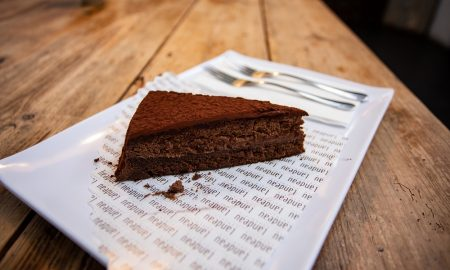 Landeau Chocolate - Fetta di torta al cioccolato