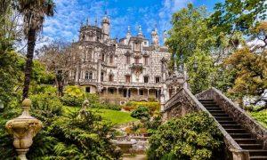 Quinta Da Regaleira - il palazzo e l'area verde