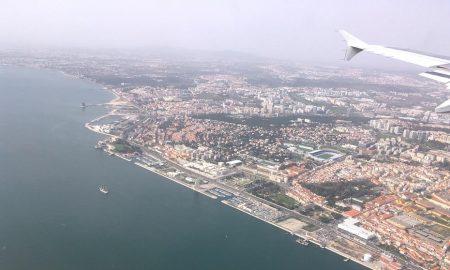 Come Arrivare a Lisbona - Vista aerea