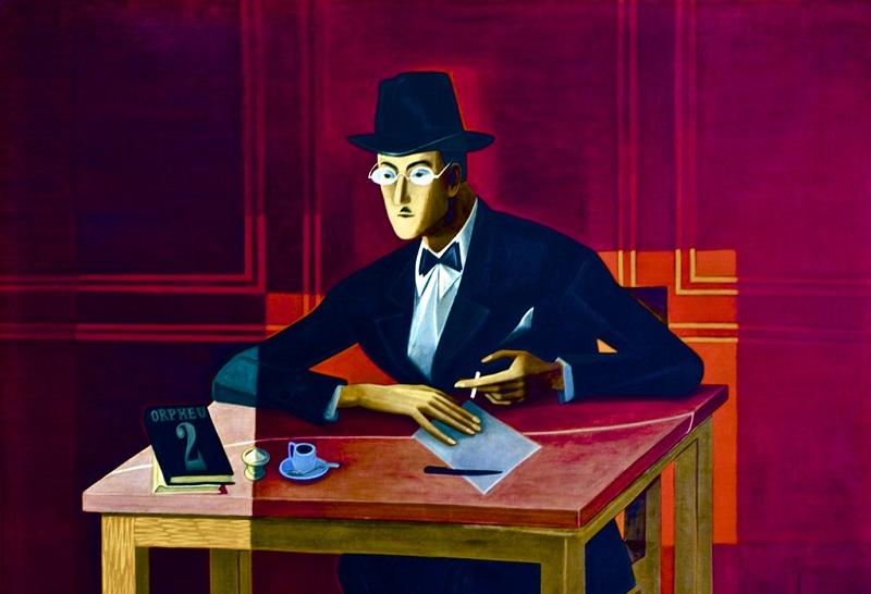 Fernando Pessoa - Ritratto di José de Almada Negreiros