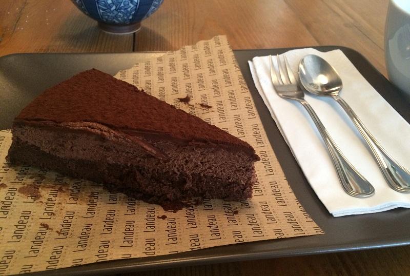 Landeau Chocolate - fetta di torta
