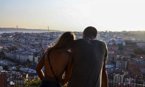 San Valentino - coppia di innamorati