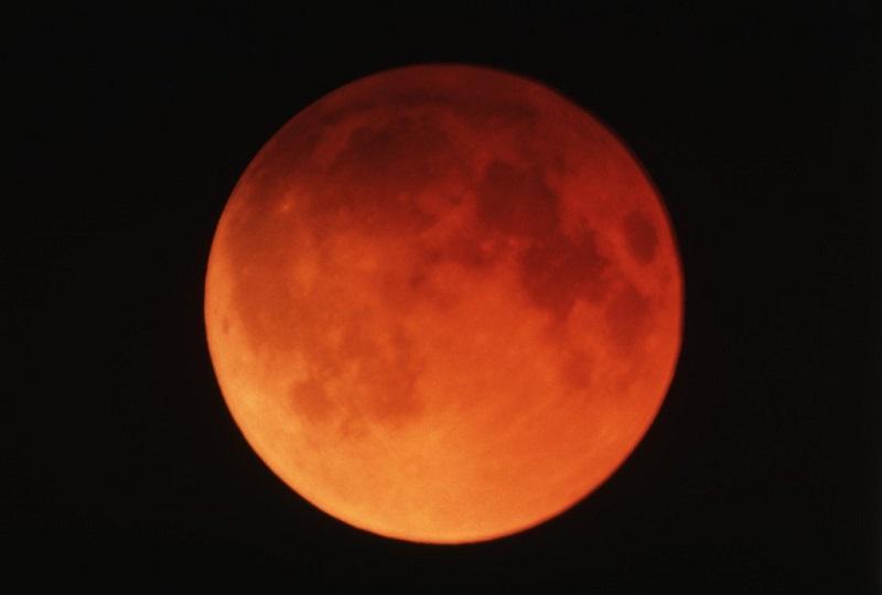 Superluna - La luna rossa