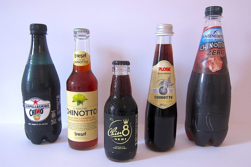 Chinotto - bottiglie