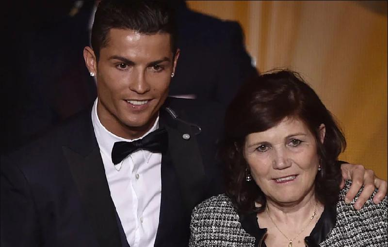Ronaldo e la madre Maria Dolores