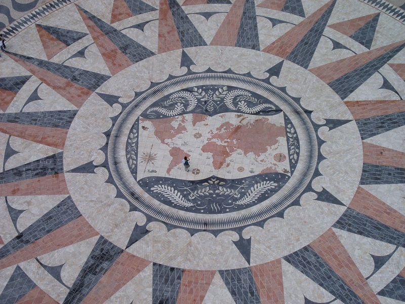 Monumento alle Scoperte - Rosa Dei Venti