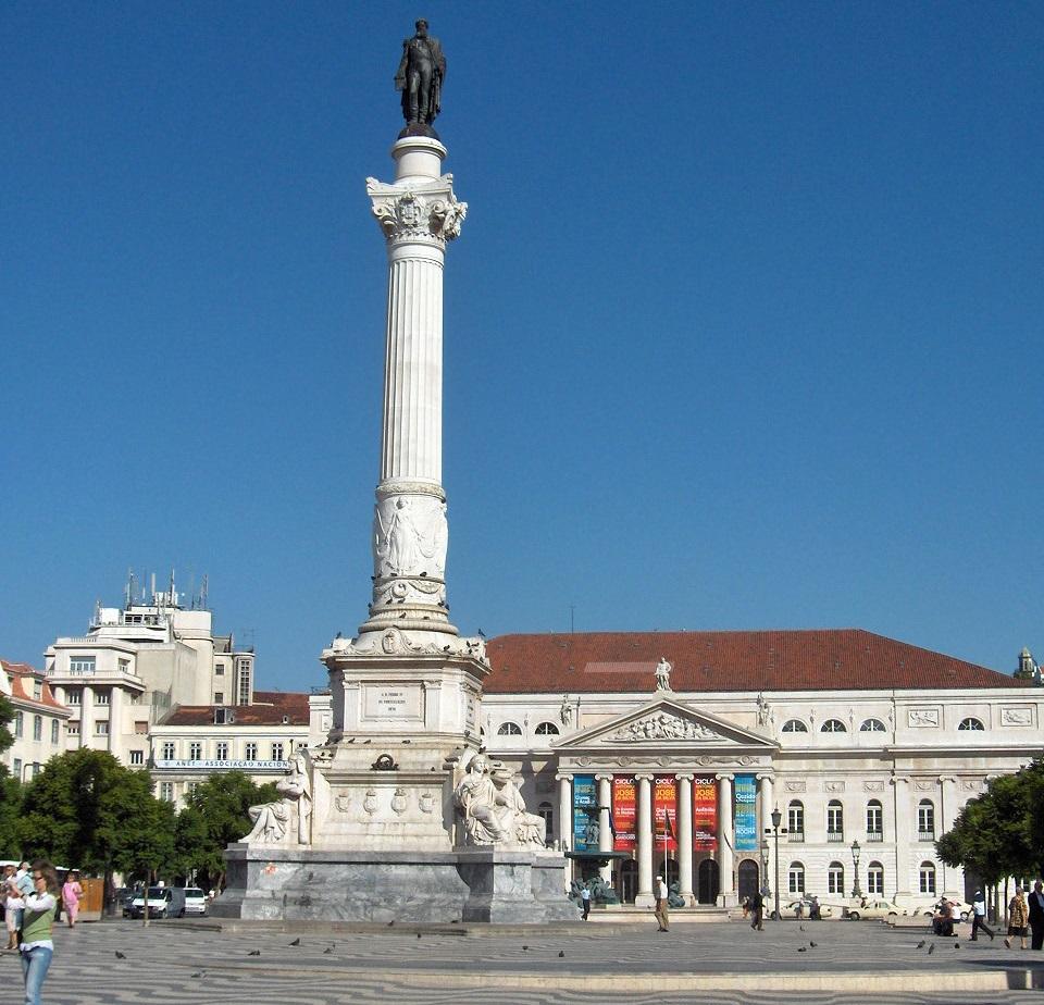 Rossio - statua D. Pedro IV