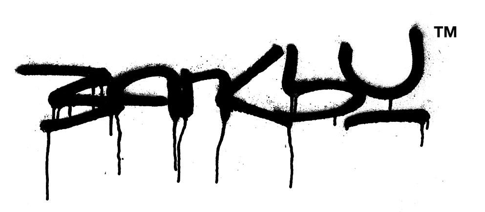 Banksy alla Cordoaria Nacional - la firma dell'artista
