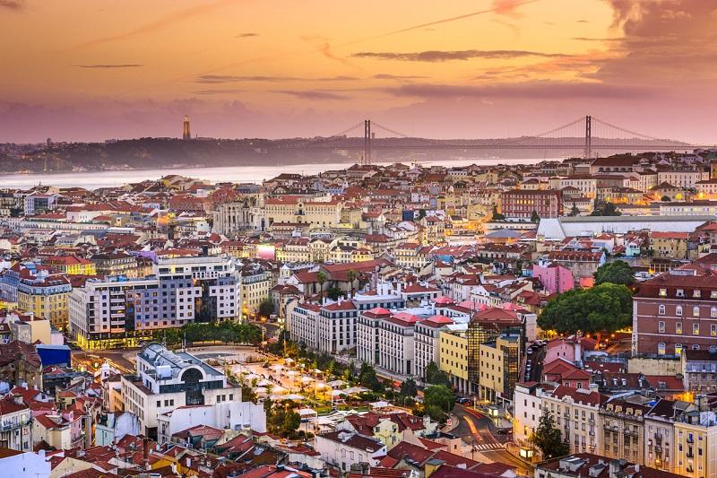 Costo della vita a Lisbona - panorama della città