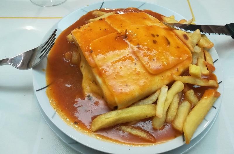 Gastronomia portoghese - Francesinha