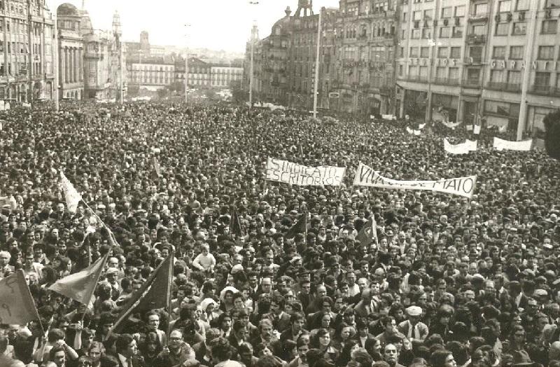 Rivoluzione dei Garofani - Primo Maggio