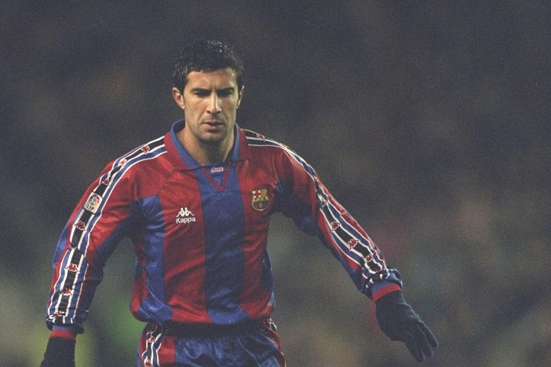 Luis Figo al Barcellona
