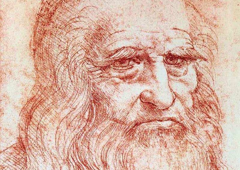 Autoritratto Leonardo