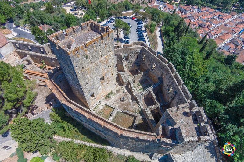 Castello Vista Aerea
