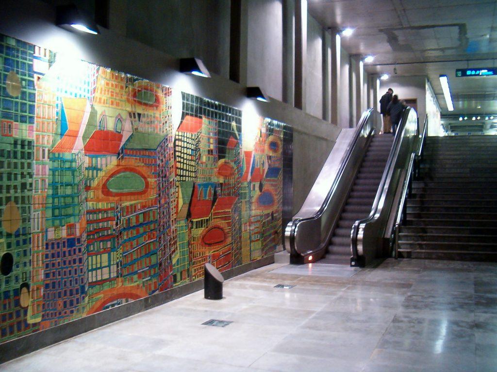 arte in metropolitana: Metrooriente4