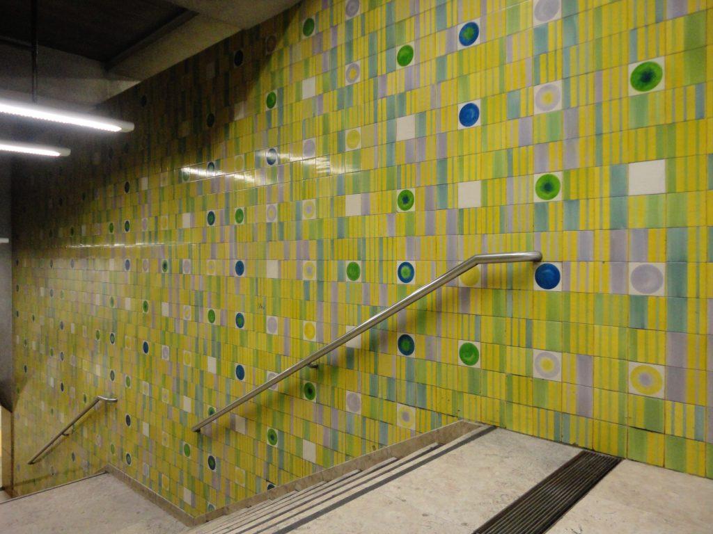 Metro Lisboa Martim Moniz 2, Autore:Jcornelius  Concesso in licenza con licenza Creative Commons Attribution-Share Alike 3.0 Unported.