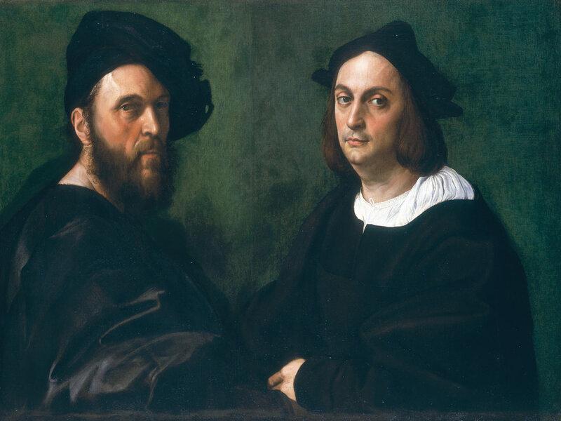 Ritratto di Navagero e Beazzano, di Raffaello Sanzio