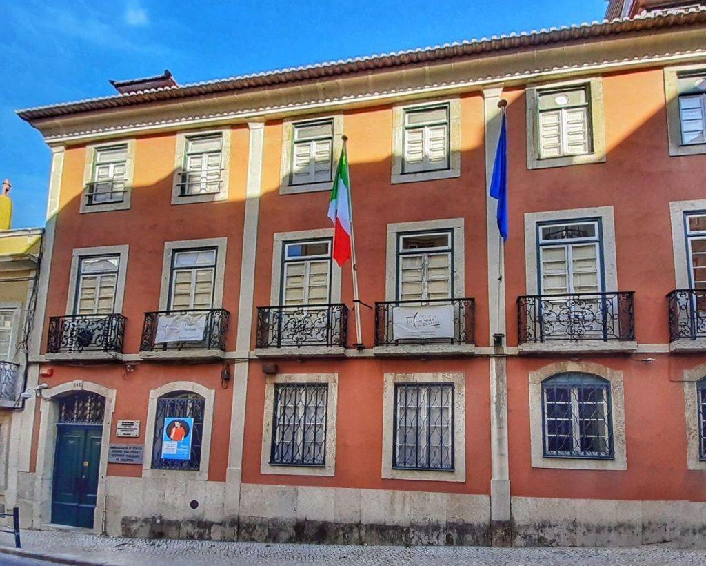Istituto di Cultura Italiana di Lisbona, ente organizzatore del recital di liuto a 6 cori a Lisbona e Coimbra