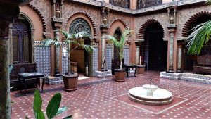 Patio della Casa do Alentejo