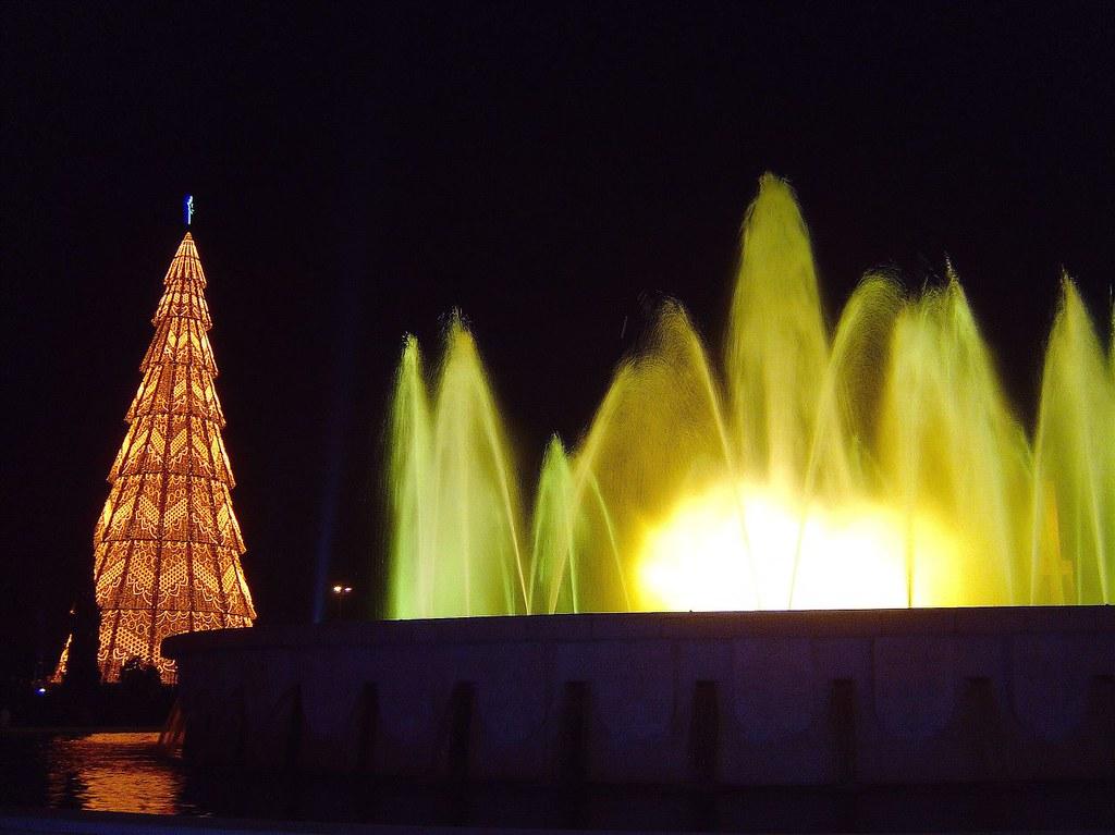 Albero Di Natale A Lisboa