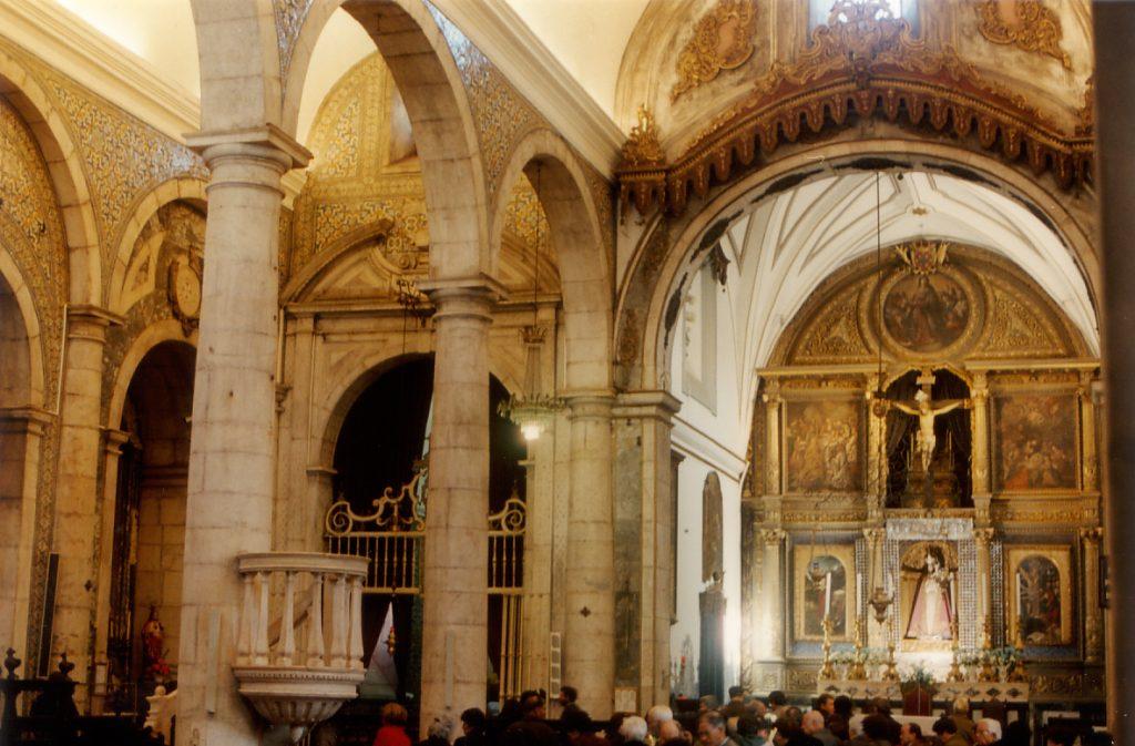 Interno della Chiesa della Madonna della Concezione, a Vila Viçosa
